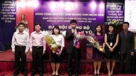 Hoàng Long - Hoàn Vũ JOC tổ chức thành công Đại hội Đảng bộ 2015-2020