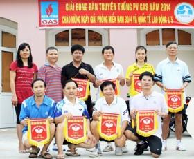 Sôi nổi giải bóng bàn Hội thao PV GAS 2014