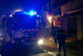 TP HCM: Người dân hoảng hốt vì cháy trạm biến áp