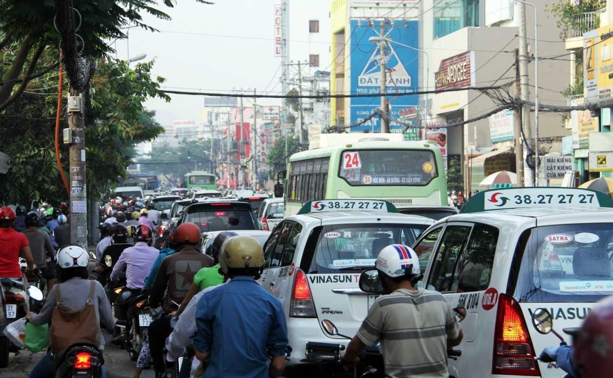 TP HCM sẽ giải quyết ùn tắc giao thông bằng công nghệ thông tin