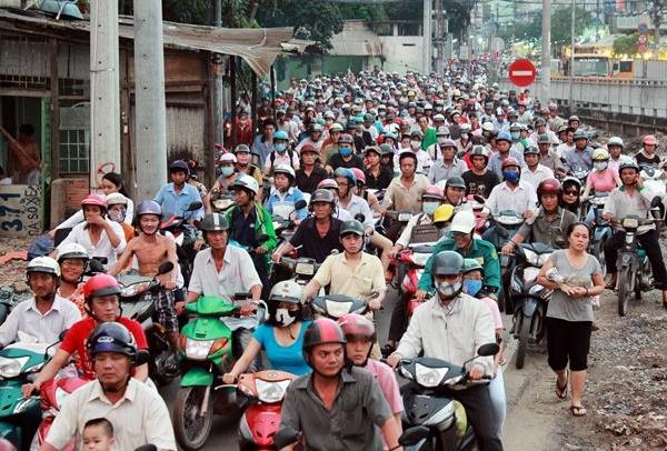 TP HCM sẽ thu phí đường bộ đối với xe máy?