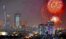 TP HCM bắn pháo hoa mừng Quốc khánh