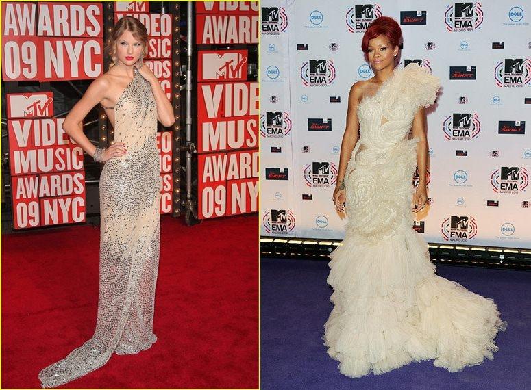Rihanna và Taylor Swift qua mặt Lady Gaga