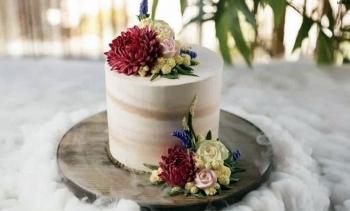 love of flowers hoa tren banh kem