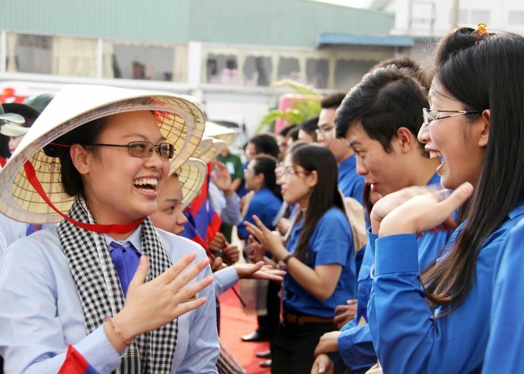 """Tuổi trẻ TPHCM đón tàu """"thanh niên Đông Nam Á"""""""