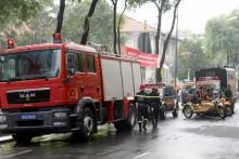 Diễn tập chữa cháy, cứu nạn ở trung tâm TP HCM