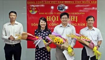 Biển Đông POC tổng kết công tác Đảng 2015