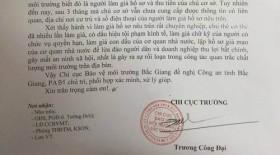 Chủ cơ sở chăn nuôi lợn làm giả chữ ký Thứ trưởng
