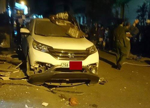 Chủ nhân chiếc xe CRV bị nổ tung trên phố là ai?