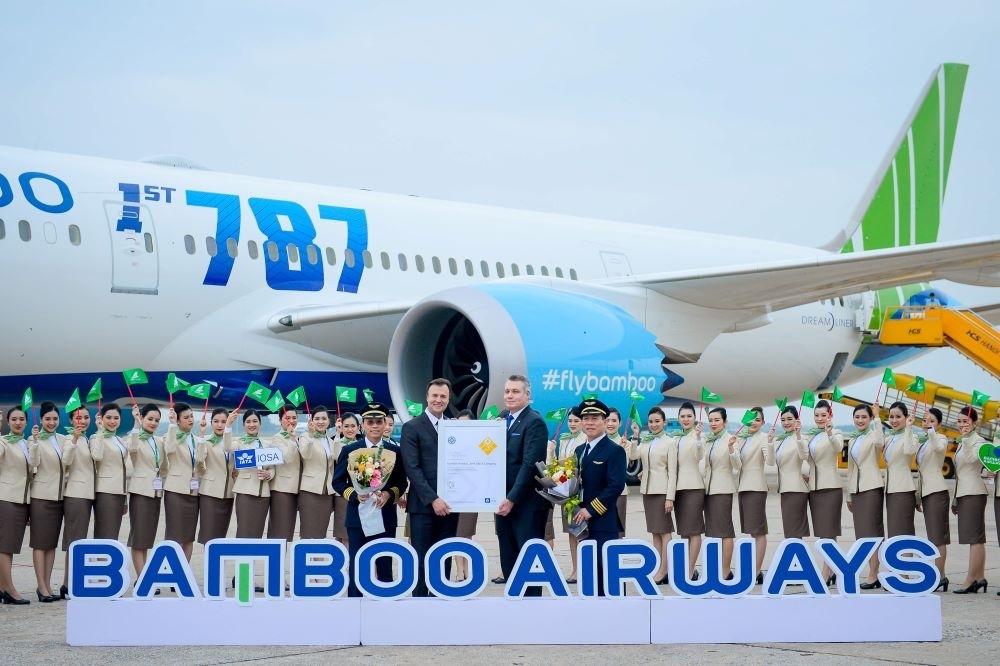 bamboo airways nhan chung nhan danh gia an toan khai thac iosa