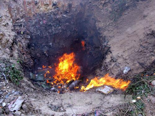 Bắc Giang: Tiêu hủy hơn 2 tạ hàng đông lạnh lậu