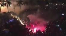[VIDEO] Sự cố bắn pháo hoa đêm giao thừa ở Quảng Ngãi
