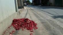 Vĩnh Phúc: Pháo vẫn nổ trong ngày Tết Nguyên đán