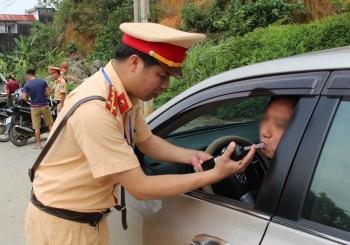 Mùng 2 Tết, xử phạt 258 trường hợp vi phạm nồng độ cồn