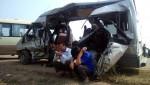 Vụ tai nạn tại QL32: Ba người trong một gia đình gặp nạn