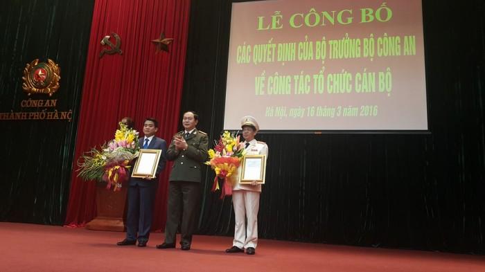 Bổ nhiệm Giám đốc Công an TP Hà Nội