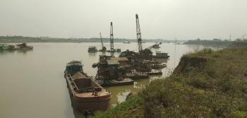 Phú Thọ: Phạt hơn 600 triệu đồng một cá nhân khai thác cát trái phép