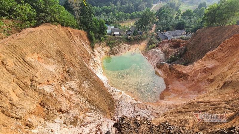 Bộ TN&MT kiểm tra việc chấp hành pháp luật trong khai thác khoáng sản tại Phú Thọ
