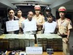 Bộ Công an khen thưởng các đơn vị phá án ma túy ở Lào Cai
