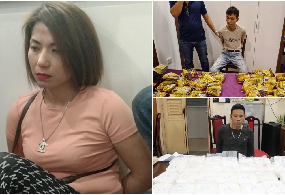 """Công an Hà Nội bắt """"bà trùm"""" ma túy hoạt động ở chung cư cao cấp"""