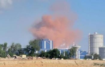 Giám sát nhà máy Thép Hòa Phát Dung Quất vì xả khói, bụi ra môi trường