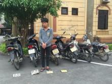 Lạng Sơn: Trộm 10 xe máy trong 10 ngày