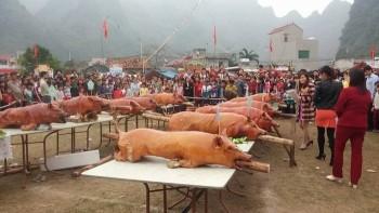 Lễ hội 'hóa kiếp lão trư' ở Lạng Sơn