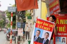 [Chùm ảnh] Chuyện vui dịp Tổng thống Mỹ thăm Việt Nam