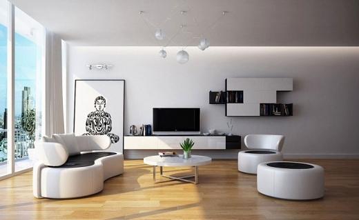 Kết quả hình ảnh cho Phong cách thiết kế nội thất tối giản hiện đại