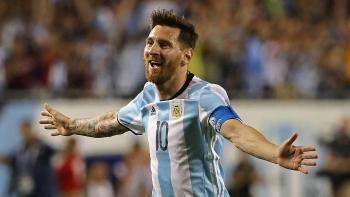messi ghi 3 ban argentina 4 0 haiti truoc world cup 2018