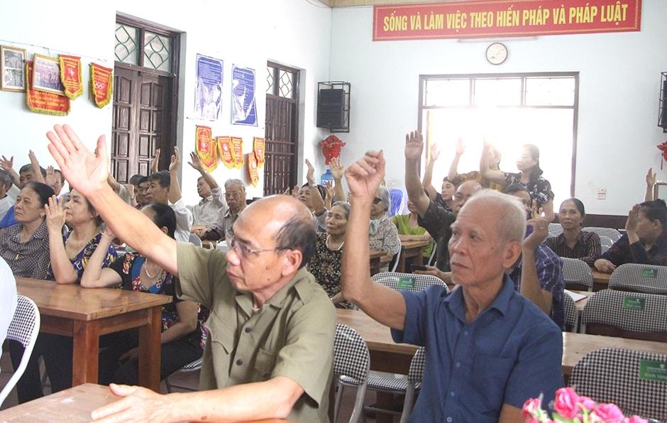 Tỉnh Phú Thọ tiếp xúc cử tri theo hình thức trực tuyến