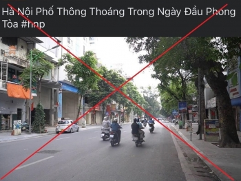 """Đăng tin """"phong tỏa Hà Nội"""", chủ fanpage bị phạt 12 triệu đồng"""