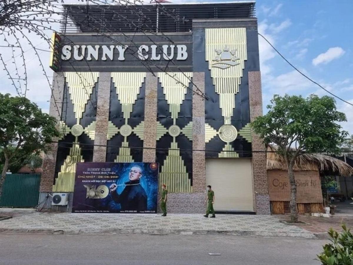 Công an tỉnh Vĩnh Phúc khởi tố vụ án liên quan đến bar Sunny