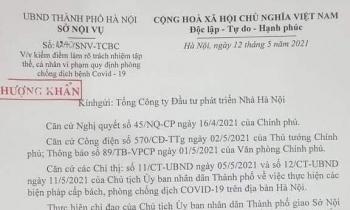 """Văn bản """"thượng khẩn"""" của Hà Nội yêu cầu xử lý Giám đốc Hacinco"""