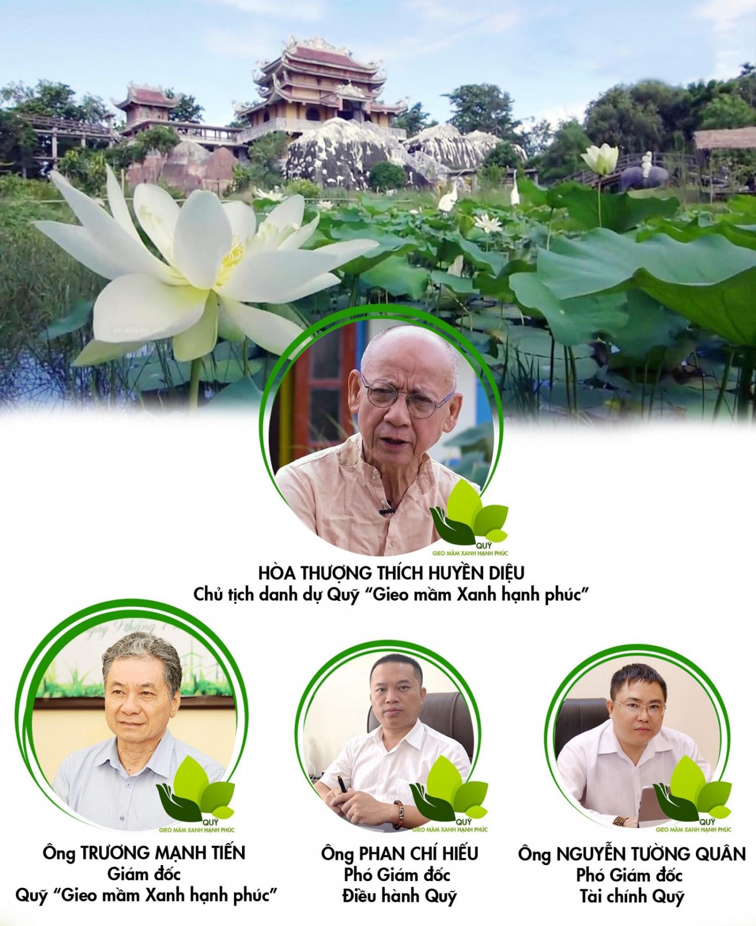 Ra mắt Quỹ Gieo mầm Xanh hạnh phúc