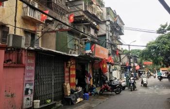 Vì sao tiến độ cải tạo chung cư cũ ở Hà Nội chậm?
