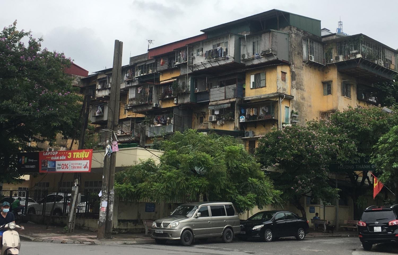 HoREA kiến nghị tháo gỡ vướng mắc trong cải tạo chung cư cũ