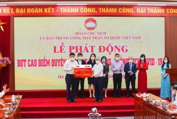 Ngân hàng MSB và Tập đoàn TNG Holdings Việt Nam ủng hộ 30 tỷ đồng cho quỹ phòng chống dịch Covid-19