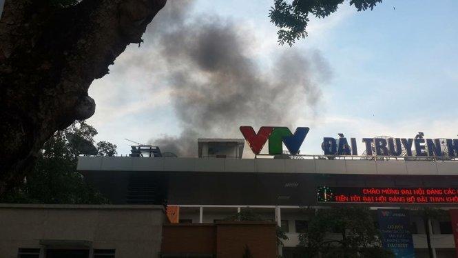 Cháy tại Đài Truyền hình Việt Nam
