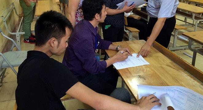 Viện Đại học Mở Hà Nội nói về nghi vấn 'Chủ tịch xã nhờ người thi hộ'