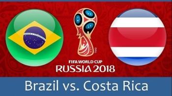lich thi dau bong da world cup ngay 226 brazil dau costa rica