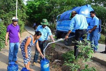 Lượng mưa thấp, hàng chục nghìn hộ dân thiếu nước sinh hoạt