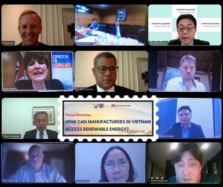 Hướng tiếp cận năng lượng mặt trời cho các doanh nghiệp sản xuất ở Việt Nam