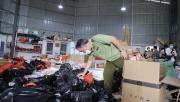Tổng tấn công 8 kho hàng, thu giữ 40 tấn hàng hóa