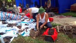 [Ảnh - Video] Xử lý thế nào với 200 bộ hài cốt mới phát hiện ở Hà Nội?