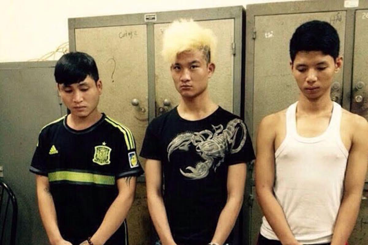 3 đối tượng trộm điện thoại của nhóm SVTN
