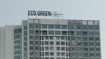 chung cu eco green city moi ban giao da tham dot