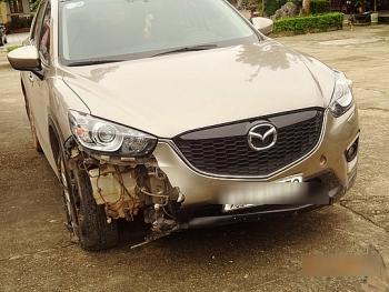 Hà Nội: Truy tìm lái xe Mazda CX5 gây tai nạn rồi bỏ chạy