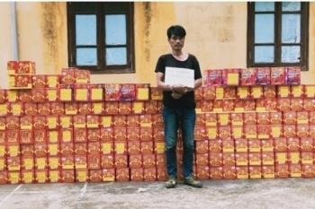 Cao Bằng: Thu giữ gần 900kg pháo nổ, bắt một đối tượng