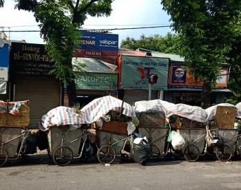 Hà Nội: Chuyển hết lượng rác tồn đọng ra khỏi thành phố trong ngày 27/10